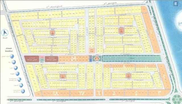 1514588 للبيع اراضي سكنية في حي المهندسين مساحات القطع الفردية ٦٤٠م  القطع الزوجية ٦٦٠م  السعر ١٠٠٠ريال للمتر يوجد لدينا بلكات للبيع