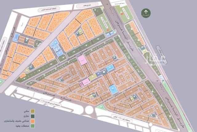 1719300 للبيع ارض في حي القيروان  مساحة ٧٠٠م  شارع ٢٠شمال الاطوال ٢٠ * ٣٥ السعر ١٦٥٠ريال للمتر
