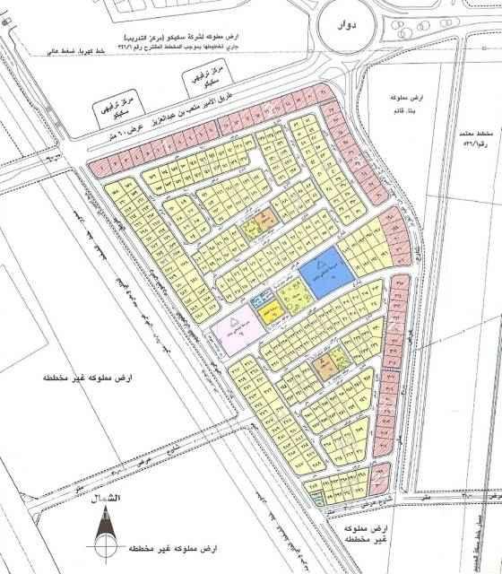1805592 للبيع اراضي تجارية في الدمام حي الازدهار على شارع الامير متعب مساحة ١٠٠٠م لكل قطعة  السعر ٢٨٠٠ريال للمتر