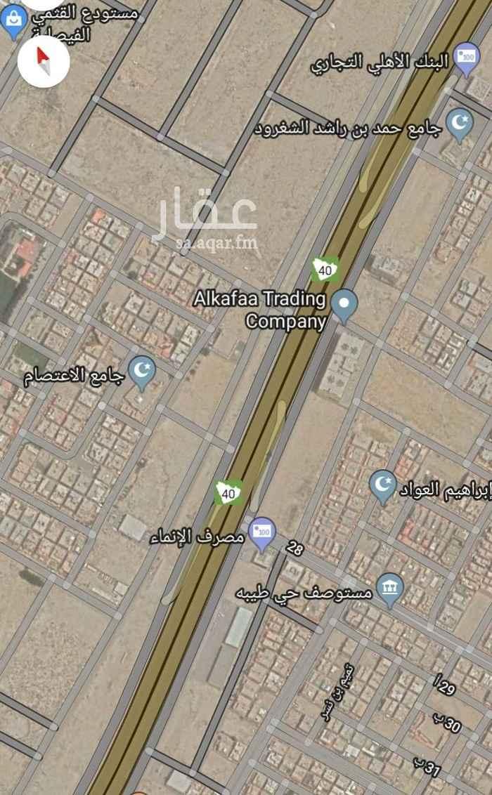 أرض للبيع في شارع النعمان بن عمرو بن رفاعة ، حي طيبة ، الدمام