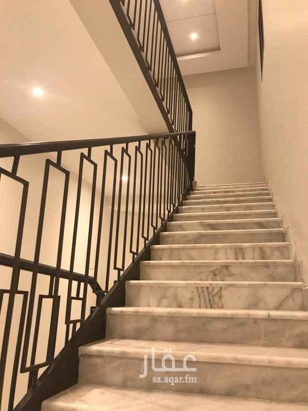 1520296 شقة فاخرة للايجار بالدور العلوي حي النرجس الشقة عبارة عن:  غرفة نوم + مجلس + مطبخ + صالة + دورتين مياة شارع ٢٠ شمالي