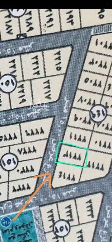 1511589 للبيع ارض في الفاخرية ٢ رقم ٢٢١٣ بلك ١٤٩ شارع ١٥ شرق المساحة ٦٠٠م السعر ٨٠٠ الف