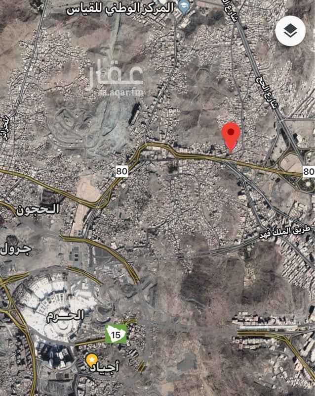 1381018 عمارة للبيع(موقع ارض) مكة المكرمة تبعد عن الحرم المكي ٢ كيلو متر شارعين تجاري ١٥ / ١٠ المساحة ٢٦٣م تصريح بناء محلات وميزانين و٨ ادوار مكرره تنفع بان تكون عمارة سكنية تجارية -التفاهم مع المالك مباشرة -مطلوب 14،500،000 دون ذلك تفاوض للجاد (عرض عقار اخر ملاصق مساحة560م في حال طلب الموقعين)يصبح شارعين تجاريه وشارع10متر