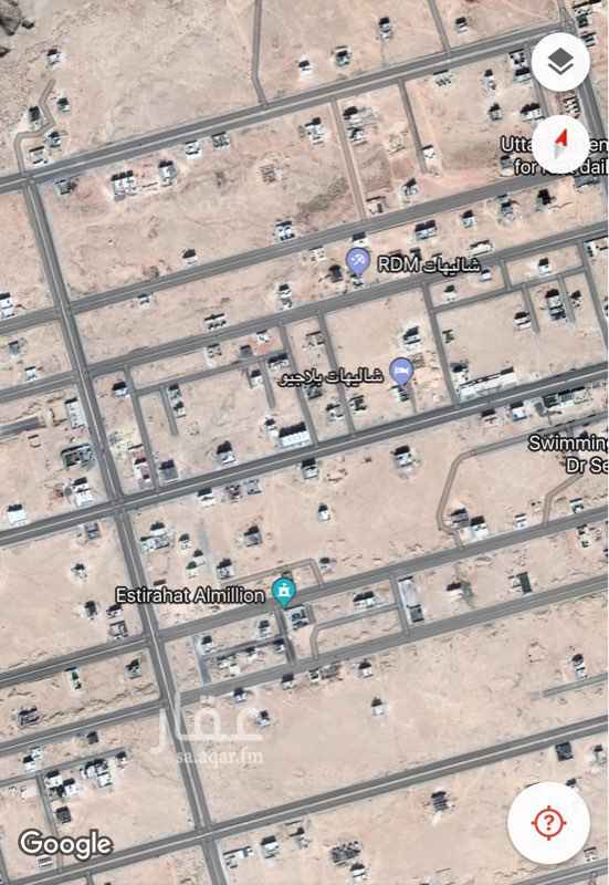 أرض للبيع فى المهدية, الرياض