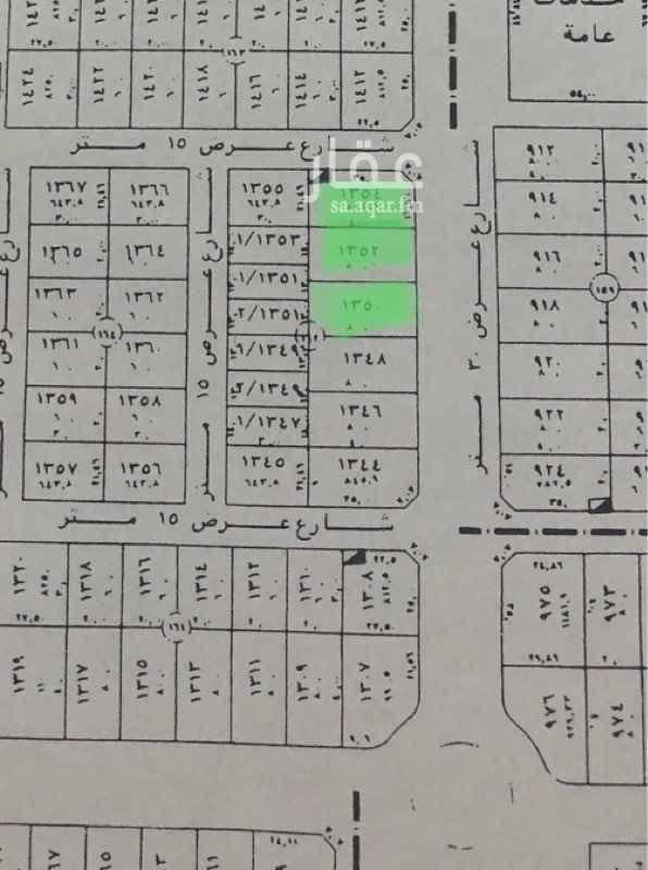 1529509 للبيع ثلاث قطع اراضي مساحة 845-800-800 تقريبا