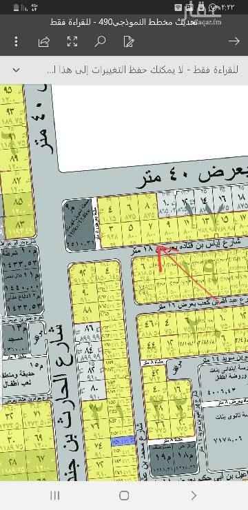 1598632 ارضين بجنب بعض بمخطط المحيسن شرق المدينه ... مساحة كل قطعه ٤٠٠ متر (١٢.٥×٣٢) شارع ١٨ جنوبي  معها رخصة بناء ومخططات جاهزه