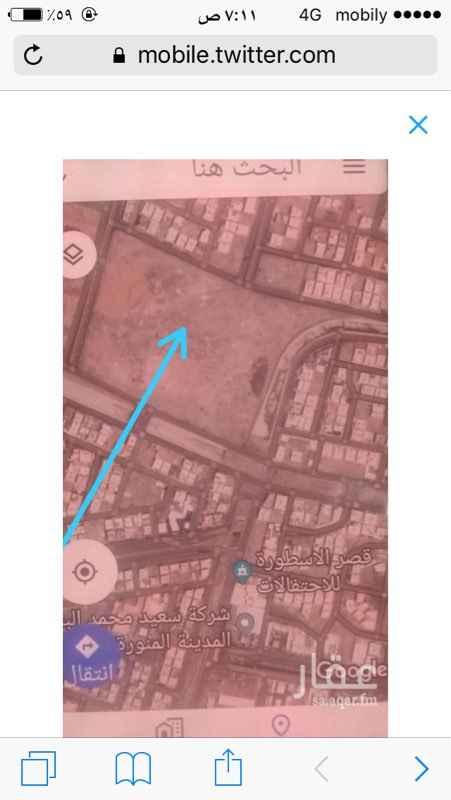 1213725 ارض تجاريه في المدينة حى العزيزية عل  4 شوارع  64  40  40  15 المساحه ١٨٤٤١٩ متر  مطلوب بالمتر ١٠٠٠ قابل للتفاوض
