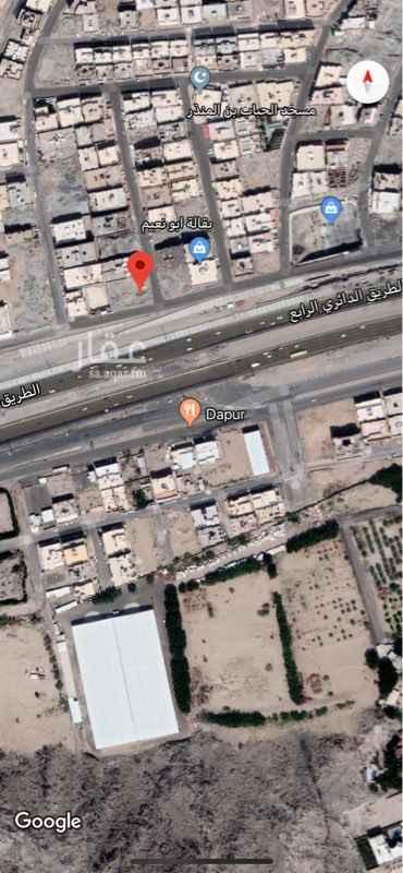 1440193 ارض للايجار والاستثمار  الارض ركنية تقع ع الطريق الدائري الرابع وشارع عرض 15 متر