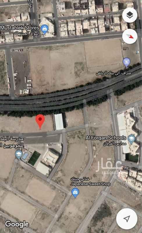 1583962 للبيع قطعة سكنية بمخطط الحمراء بموقع مميز مساحة 600م مستوية تماماً وواجهته شرقية ثاني درجة من الشارع التجاري
