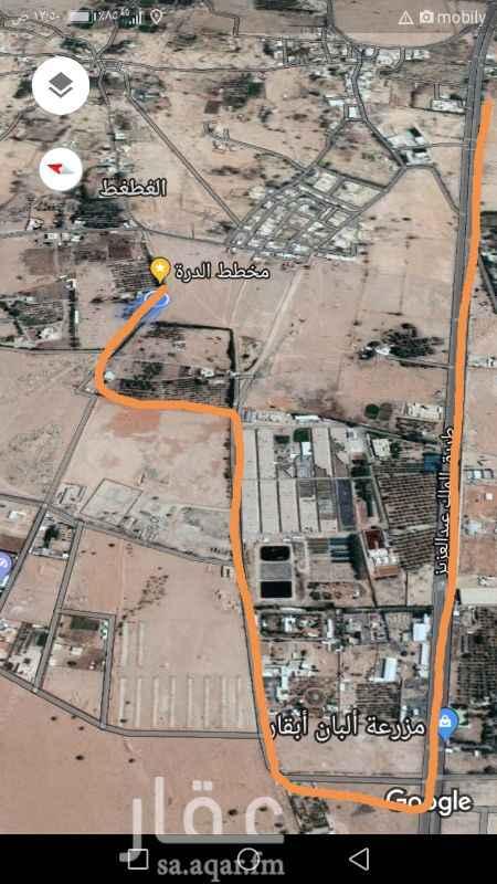 1013463 اراضي في المزاحمية بجوار الجامعة الماء والكهرباء متوفر و بصك شامل