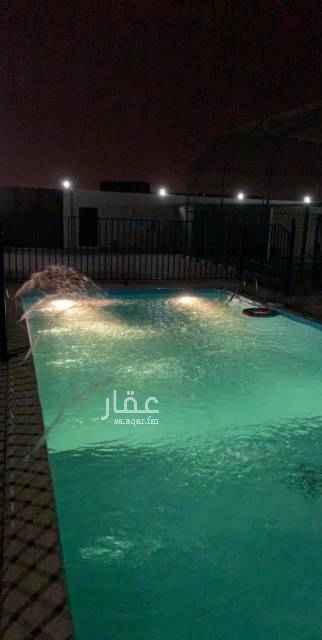 1643149 استراحة الرونق للأسترخاء والمناسبات السعيدة يوجد مسبحين وملعب ومسطحات خضراء وجلسات خارجية