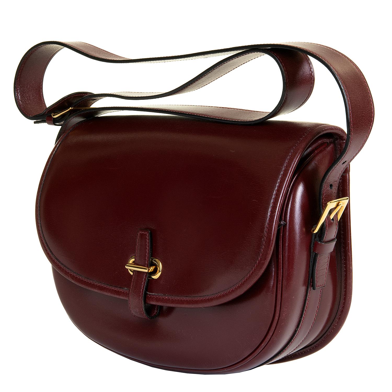 d3de8cbd296 A Rare Vintage Hermes  Balle de Golf  Box Calfskin Shoulder Bag