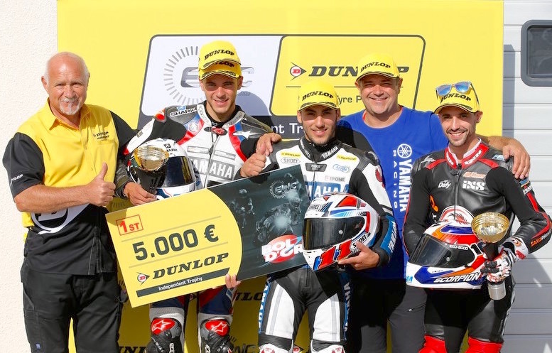 Moto Ain CRT wins EWC Dunlop Independent Trophy