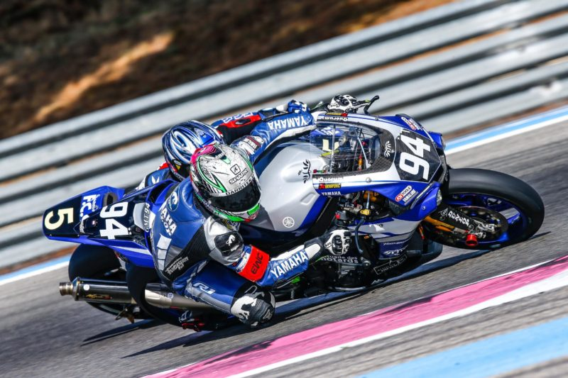 GMT94 Yamaha takes control in free practice