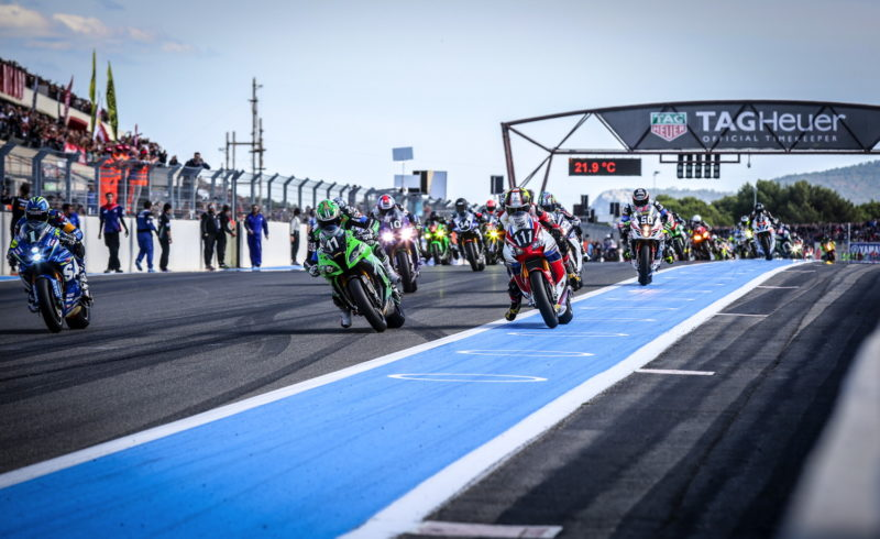 Bol d'Or gets off to very eventful start