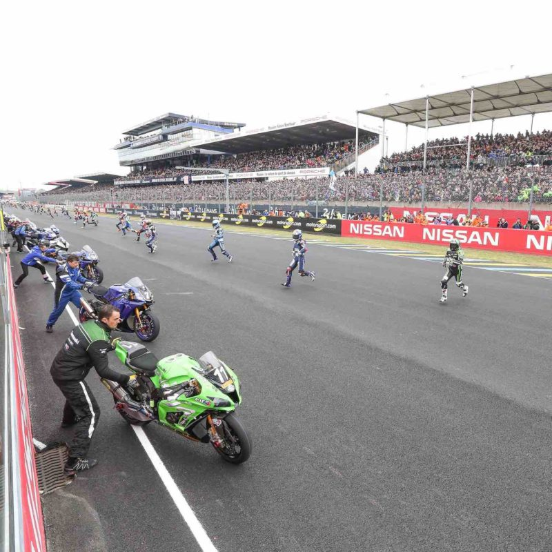High stakes at the 24 Heures Motos