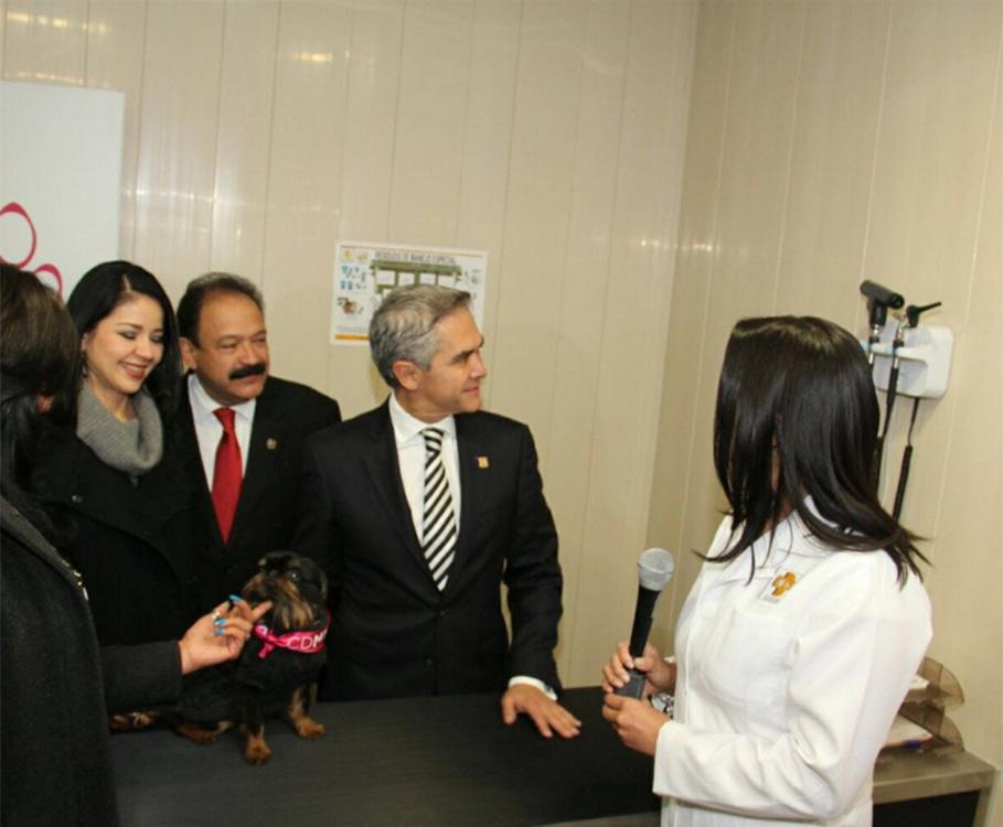 Inauguran primer hospital veterinario público y gratuito