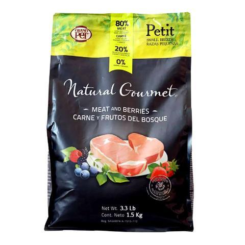 Natural Gourmet Alimento Perro Raza Pequeña (3kg)