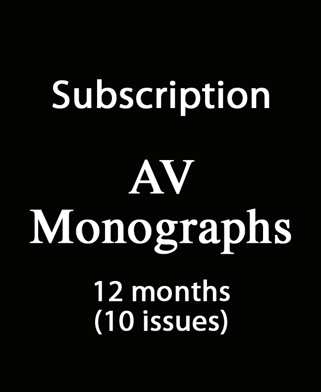 Subscription AV Monografías 12 months (10 issues)