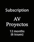 Subscription AV Proyectos – 12 months (6 issues)