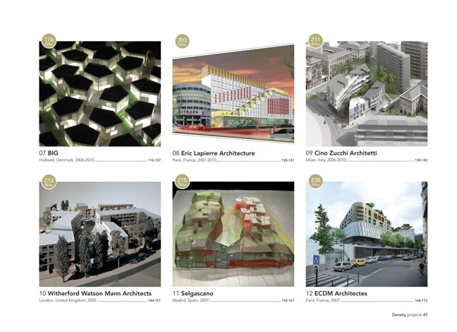 a+t density book · Density projects - Preview 8