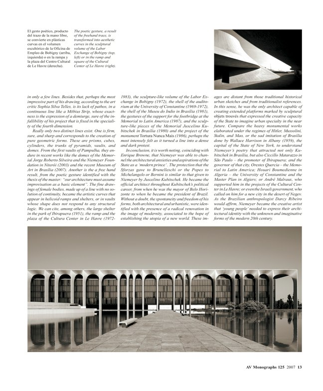 AV Monografías 125 OSCAR NIEMEYER - Preview 3
