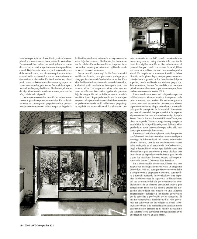 AV Monografías 132 HOUSES OF MASTERS - Preview 8