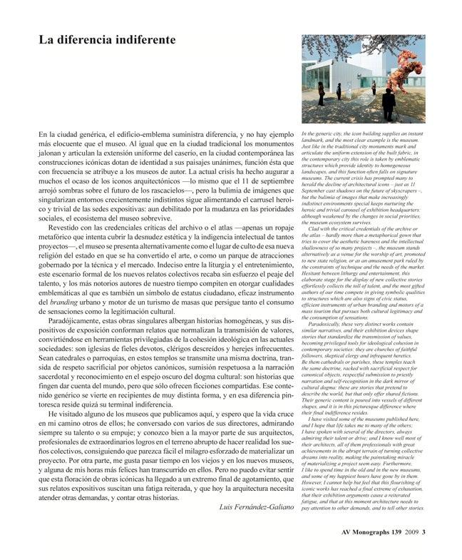 AV Monografías 139 MUSEOS del MUNDO Twelve World Museums - Preview 3