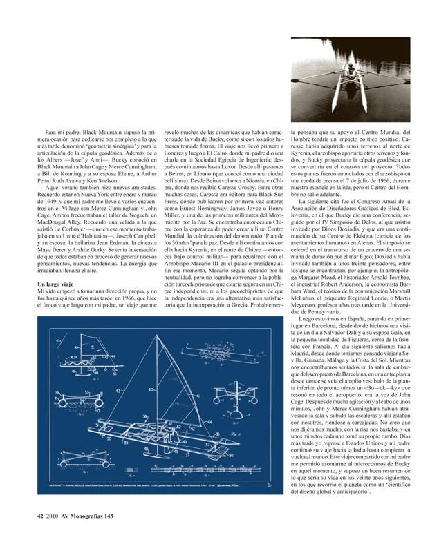 AV Monografías 143 BUCKMINSTER FULLER 1895-1983 - Preview 3