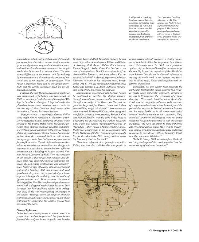 AV Monografías 143 BUCKMINSTER FULLER 1895-1983 - Preview 4