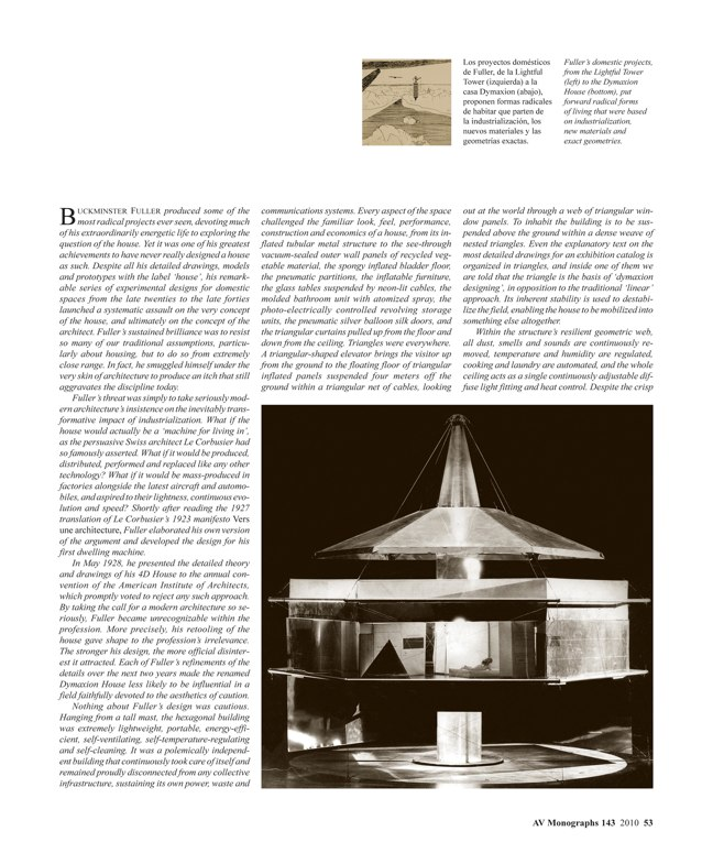AV Monografías 143 BUCKMINSTER FULLER 1895-1983 - Preview 5