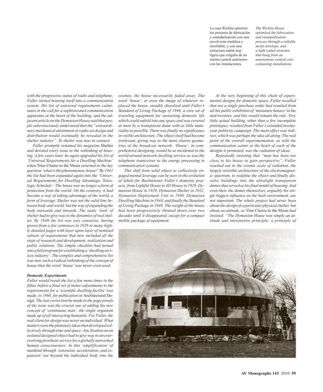 AV Monografías 143 BUCKMINSTER FULLER 1895-1983 - Preview 6