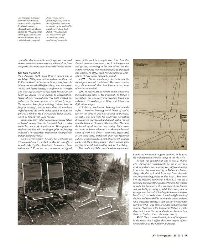 AV Monografías 149 JEAN PROUVÉ - Preview 5
