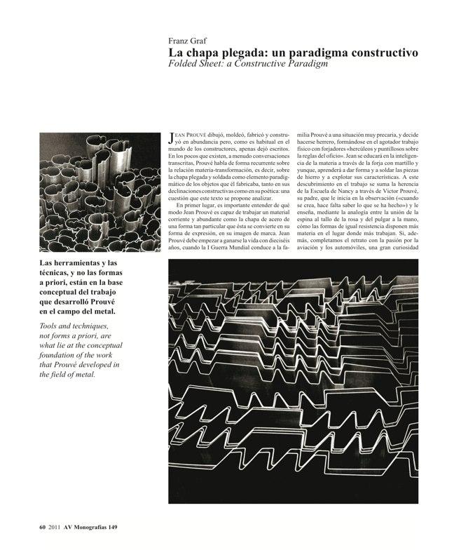 AV Monografías 149 JEAN PROUVÉ - Preview 6
