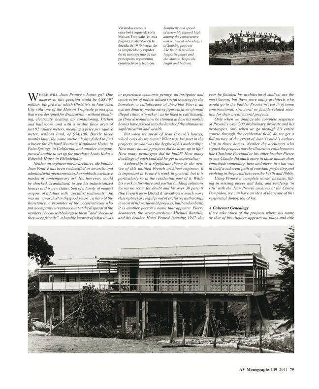 AV Monografías 149 JEAN PROUVÉ - Preview 7
