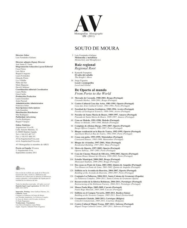 AV Monografías 151 SOUTO DE MOURA - Preview 1