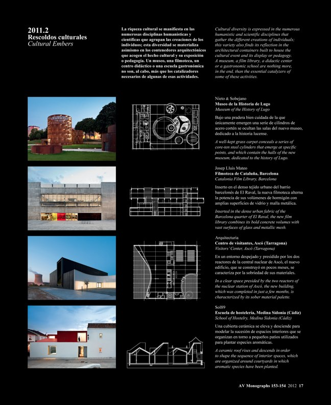 AV Monografías 153-154 SPAIN YEARBOOK – ESPAÑA 2012 - Preview 3