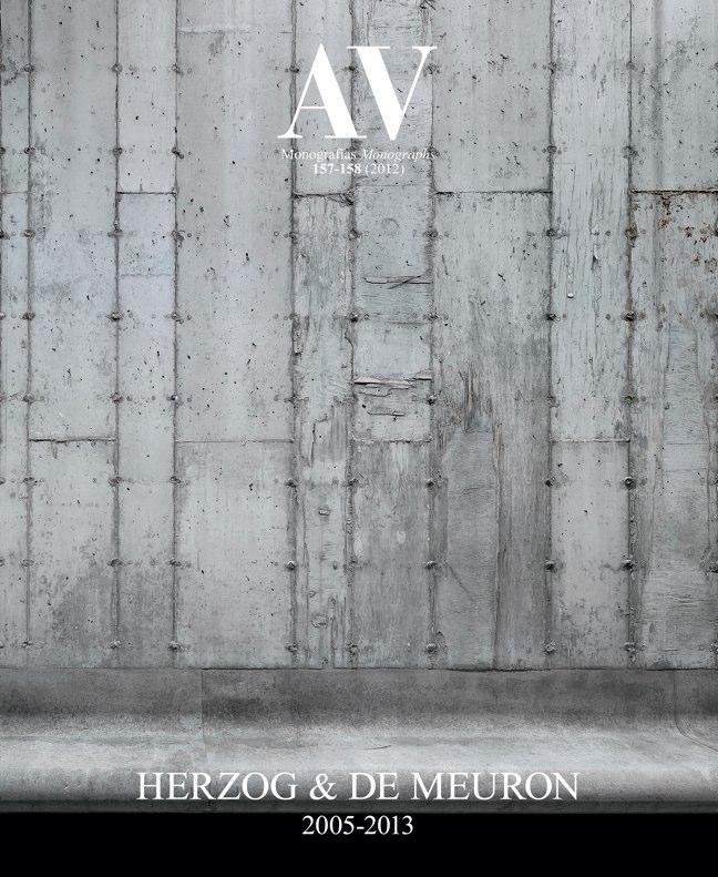 AV Monografías 157-158 HERZOG & DE MEURON