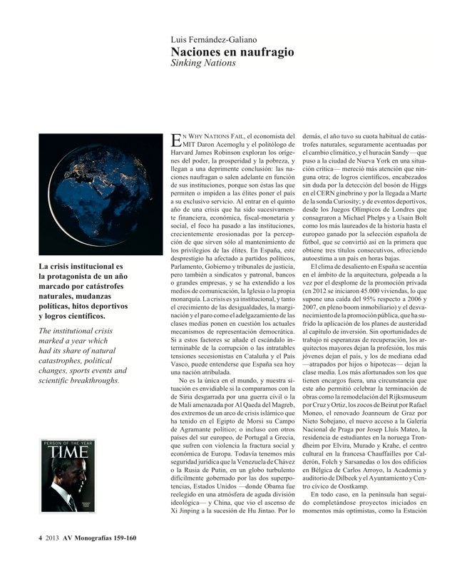 AV Monografías 159-160 ESPAÑA 2013 · SPAIN YEARBOOK - Preview 3