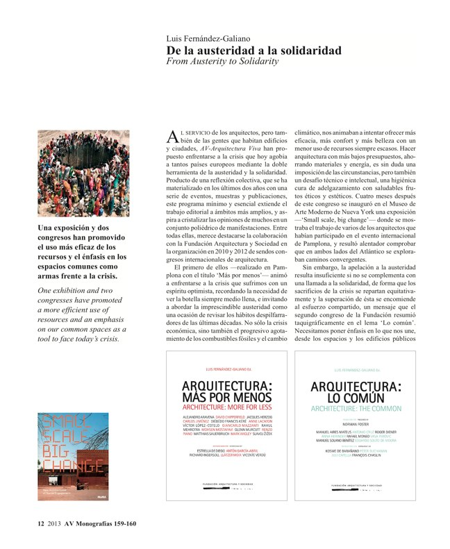 AV Monografías 159-160 ESPAÑA 2013 · SPAIN YEARBOOK - Preview 4