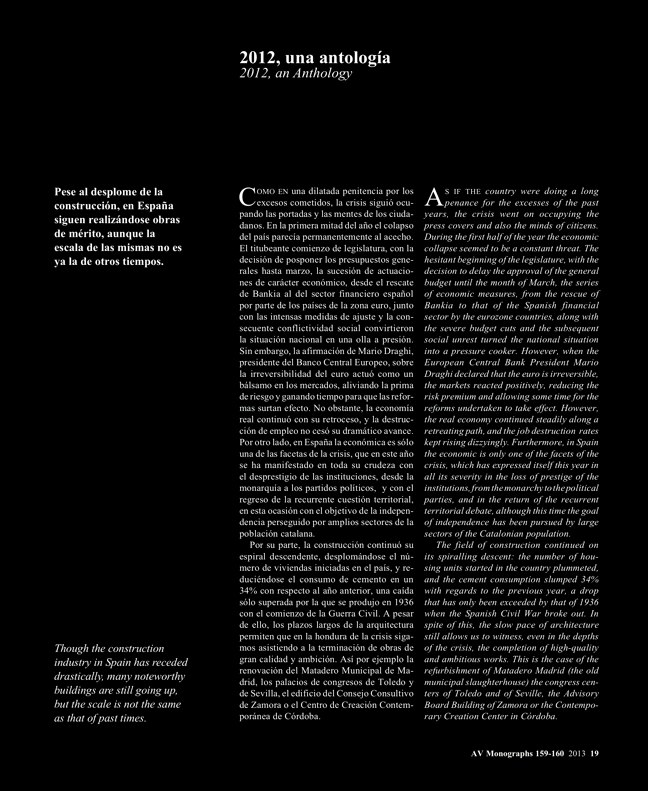 AV Monografías 159-160 ESPAÑA 2013 · SPAIN YEARBOOK - Preview 5