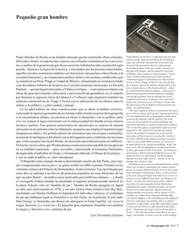 AV Monografías 161 MENDES DA ROCHA - Preview 2