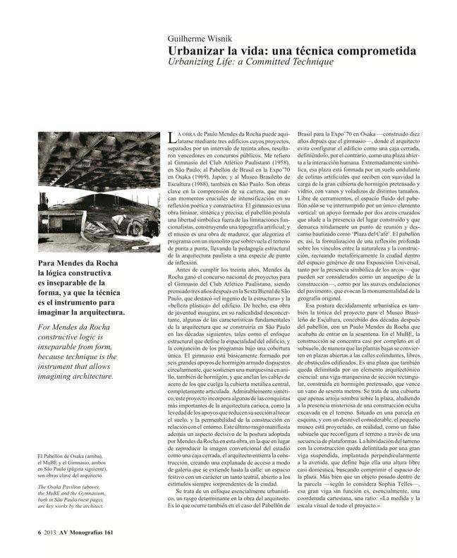 AV Monografías 161 MENDES DA ROCHA - Preview 4