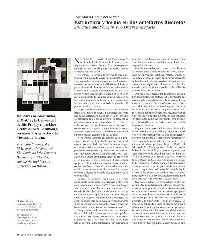 AV Monografías 161 MENDES DA ROCHA - Preview 5