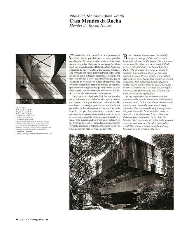 AV Monografías 161 MENDES DA ROCHA - Preview 9