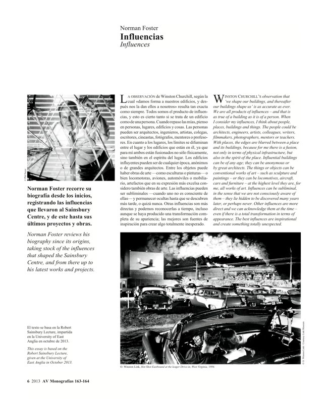 AV Monografías 163-164 NORMAN FOSTER In the 21st Century - Preview 5