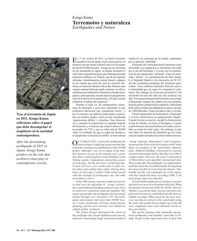 AV Monografías 167-168 KENGO KUMA - Preview 6