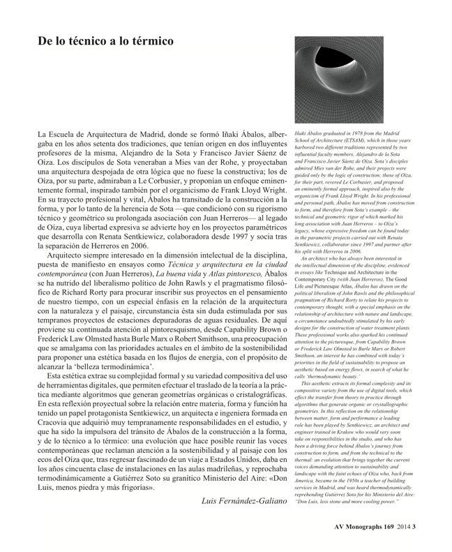 AV Monografías 169 ÁBALOS+SENTKIEWICZ - Preview 3