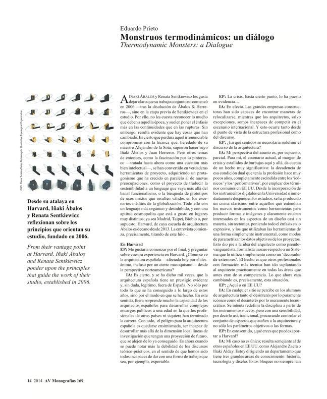 AV Monografías 169 ÁBALOS+SENTKIEWICZ - Preview 6