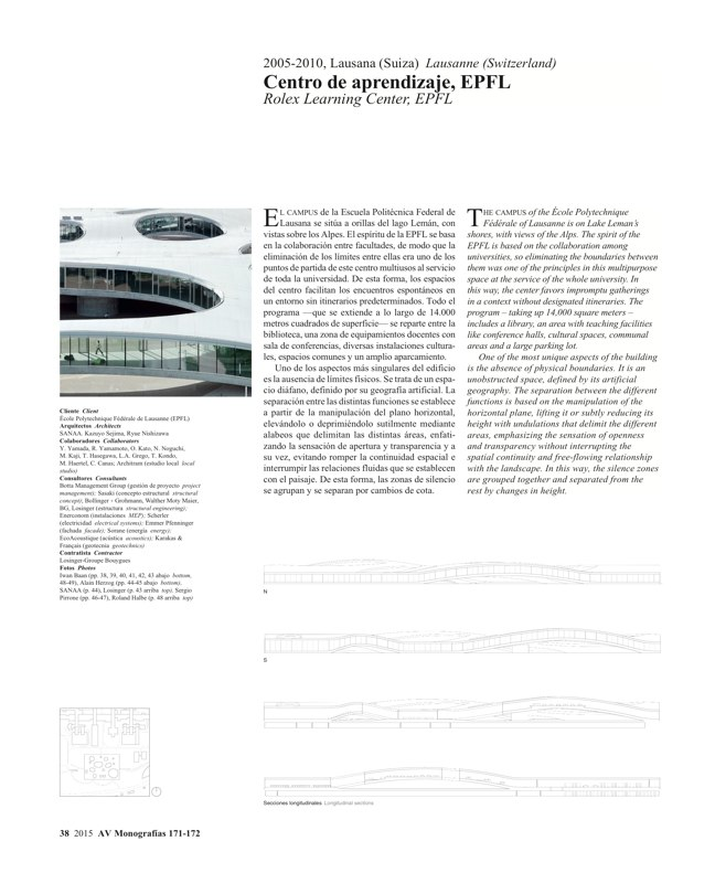 AV Monografías 171_172 SANAA Sejima & Nishizawa - Preview 11